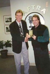 """Steve Lawson is recognized as AFTRA """"man of the year"""""""