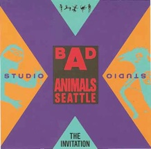 Bad Animals/Seattle Grand Opening Party Invitation