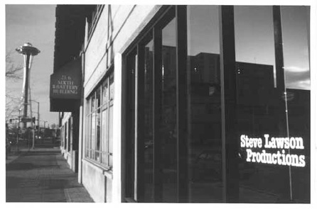 Lawson Productions after first expansion on 6th Avenue in Downtown Seattle
