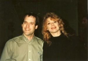 Steve Lawson (left), Nancy Wilson (right)