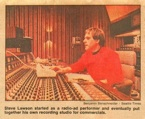 Steve Lawson left KING Radio in 1979 to found Lawson Productions which later became Bad Animals/Seattle