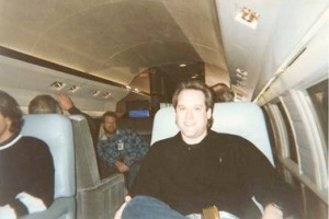 Steve Lawson flies on on a corporate jet headed for 3M's super secret play camp for adult customers in Minnesota.  Steve was not given any Scotch tape, but did drink quite a bit of scotch.