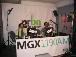Steve Lawson and Mike West MGX Radio Microsoft MGX Orlando
