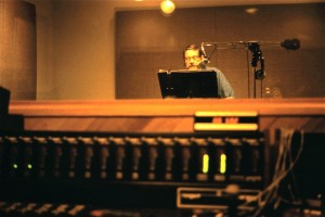 Ted D'Arms voice over session at Steve Lawson Productions 1981