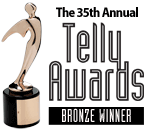 Friendly Voice, Inc. Awarded Bronze in Telly Awards